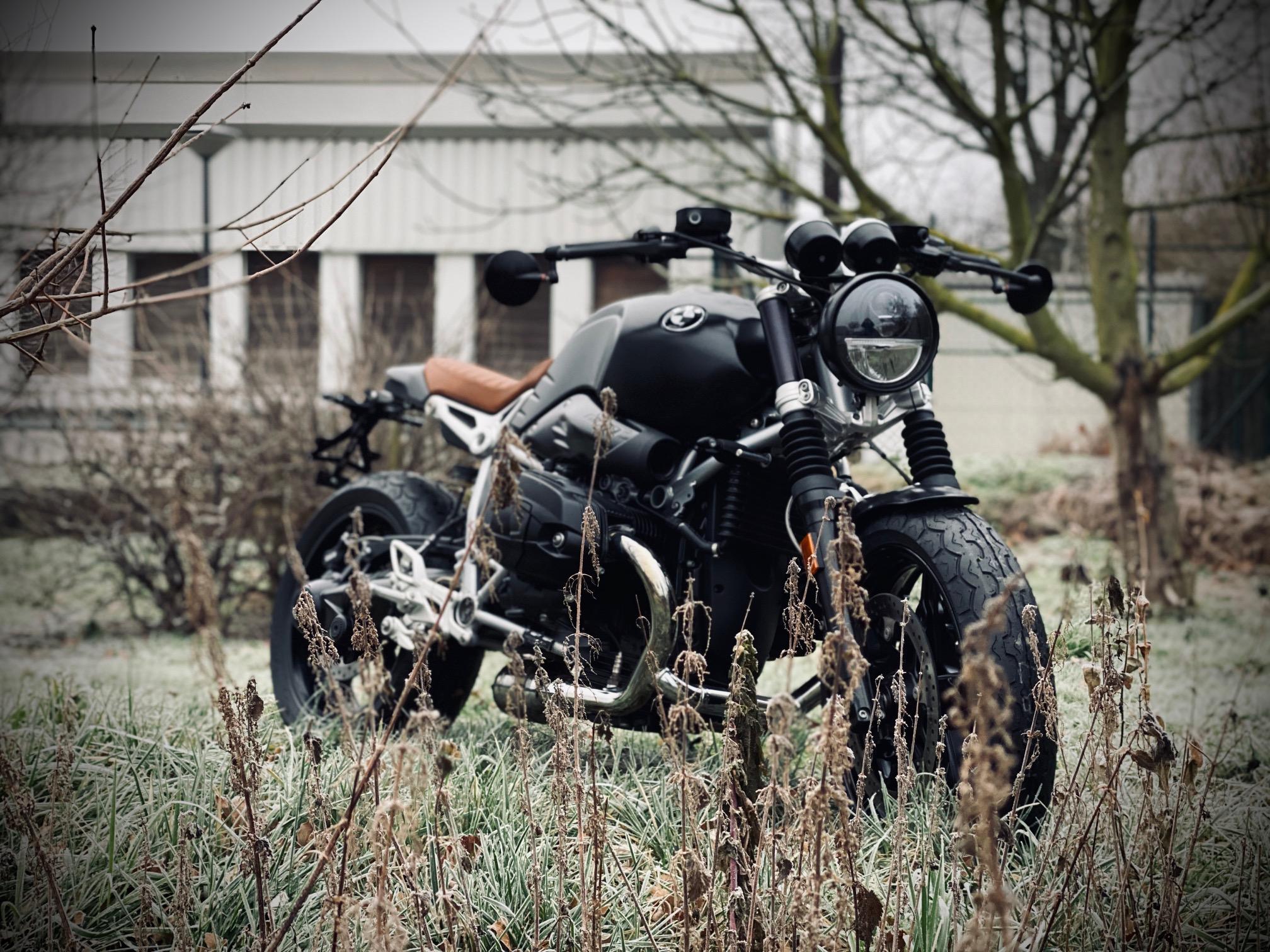 """Motorrad Weihe RnineT """"Dark Spirit - Motorrad Weihe, Ihr"""